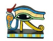 Wedjat Eye of Horus Ancient Egyptian Style Figurine 6.5 cm